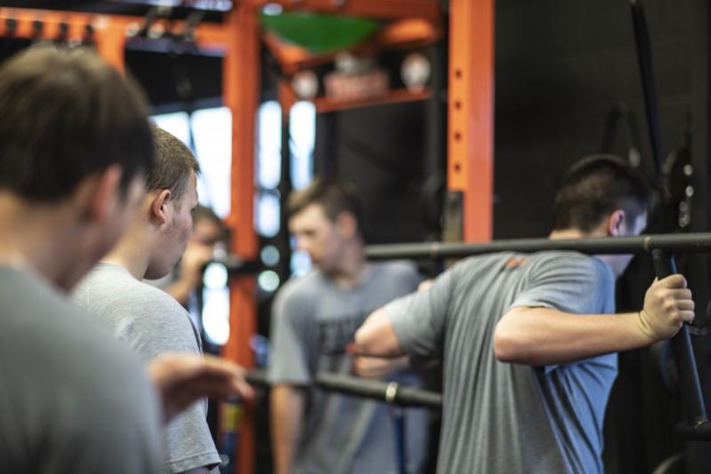 high school weight room case studies