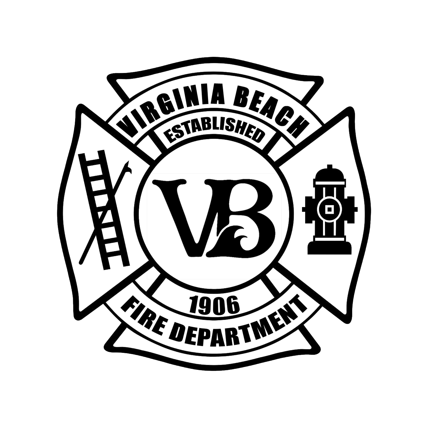 vbfd logo black
